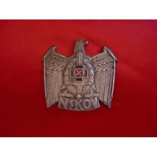 NSKOV Cap Badge # 3204