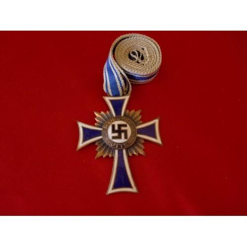 Mother's Cross in Bronze # 3218