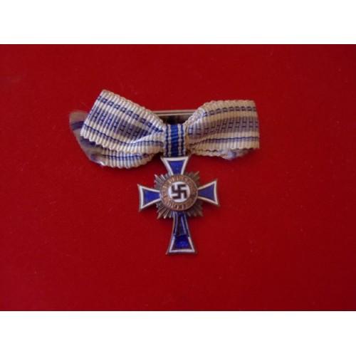 Miniature Mother's Cross in Bronze # 3220
