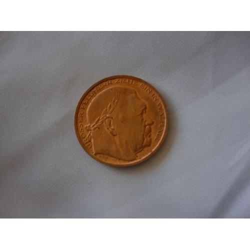 Hindenburg Medallion # 3244