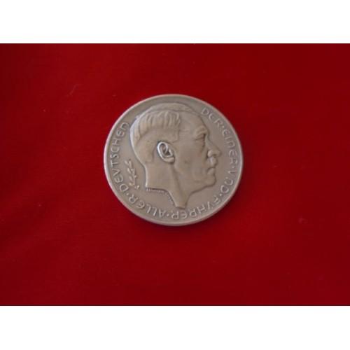 Hitler Medallion  # 3247
