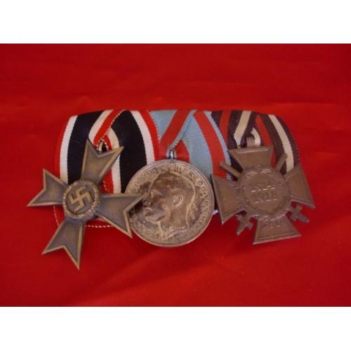 3 Medal Bar