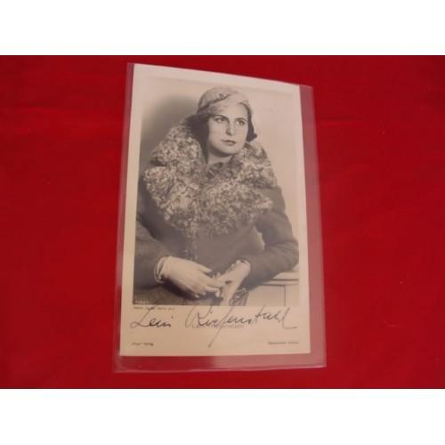 Leni Riefenstahl Postcard # 3260