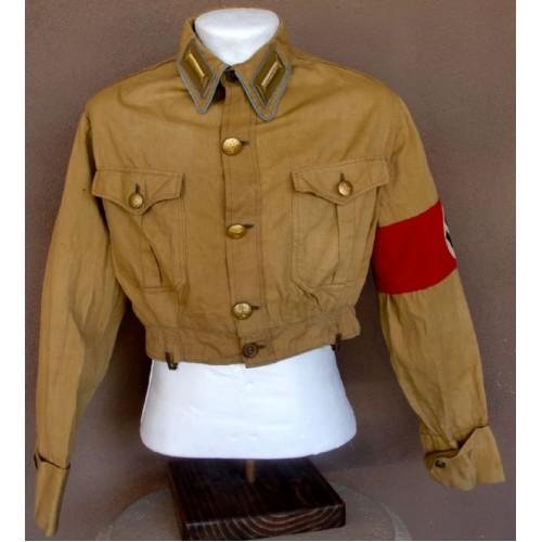 Ortsgruppen Stützpunktleiter NSDAP Brownshirt  # 3268
