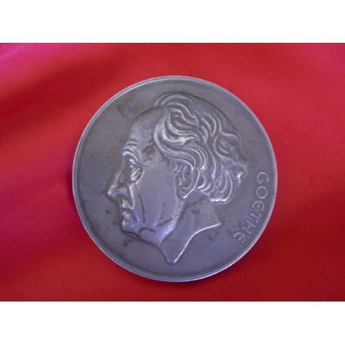 Goethe Medal for the Arts and Science  # 3277