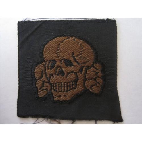 Waffen SS Camo Field Cap Insignia # 3278