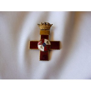 1930s Spanish Civil War Military Merit Cross  # 3317