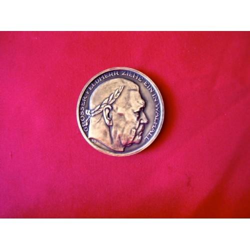 Hindenburg Medallion  # 3322