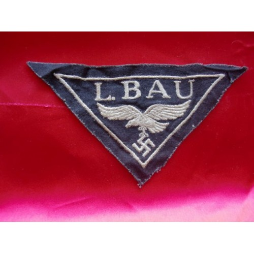 Luftwaffe Workers Breast Patch # 3353
