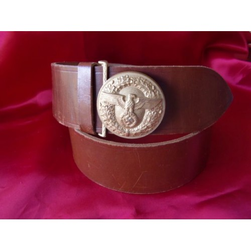 Political Leader's Belt and Buckle # 3385