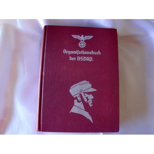 Reprint of 1943 Organisationsbuch der NSDAP  # 3395