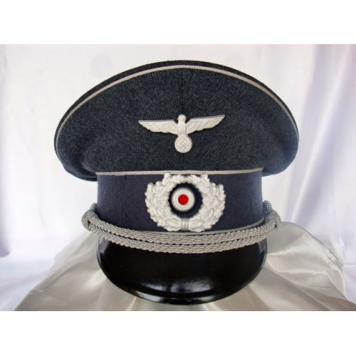 Red Cross Officer's Visor # 3418
