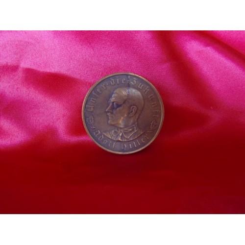 Hitler Medallion # 3426