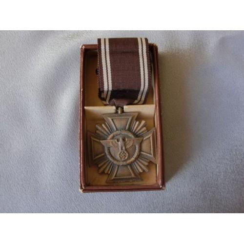 NSDAP 10 Year Long Service Medal    # 3492