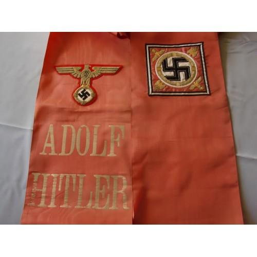 Adolf Hitler Funeral Sash  # 3496