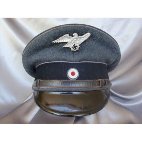 RLB / Luftschutz NCO/EM Visor  # 3521