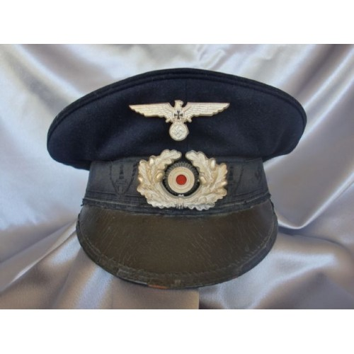 Reichskriegerbund Veteran's Visor # 3530