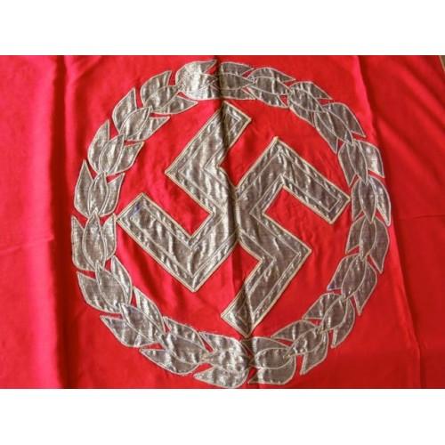 NSDAP Podium Banner # 3546