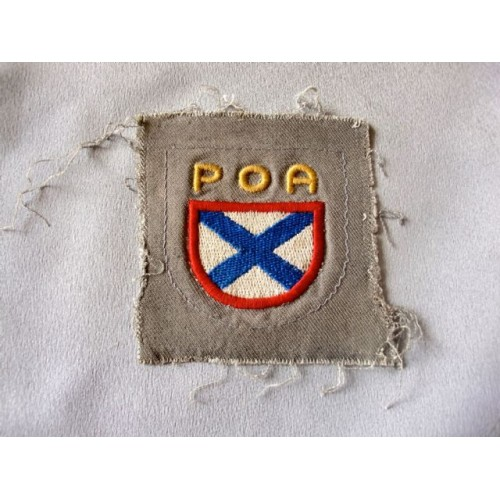 Russian Volunteer Sleeve Shield # 3589