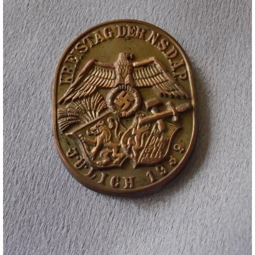 Kreistag der NSDAP Julich 1939 Tinnie # 3622