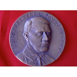 Hitler Medallion # 3646