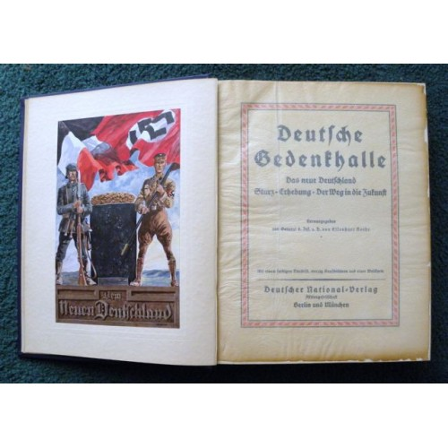 The German Hall of Remembrance # 3665