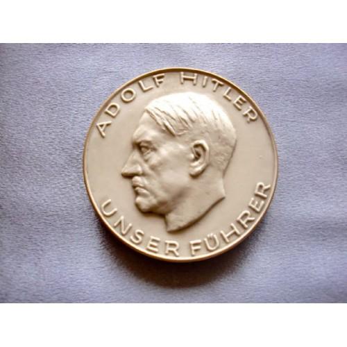 Hitler Medallion  # 3675