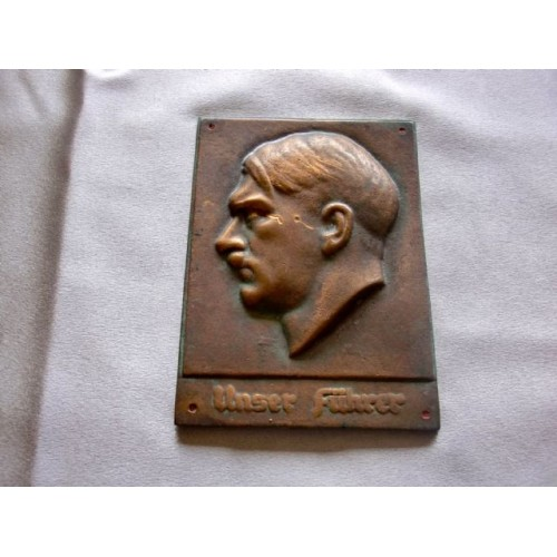 Adolf Hitler Plaque # 3677