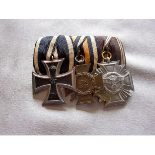 3 Medal Medal Bar # 3678