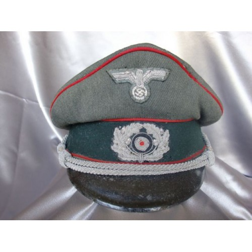 Artillery Officers Visor # 3687