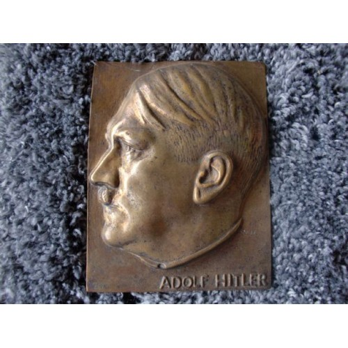 Adolf Hitler Plaque  # 3692