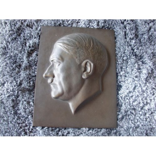 Adolf Hitler Plaque  # 3693