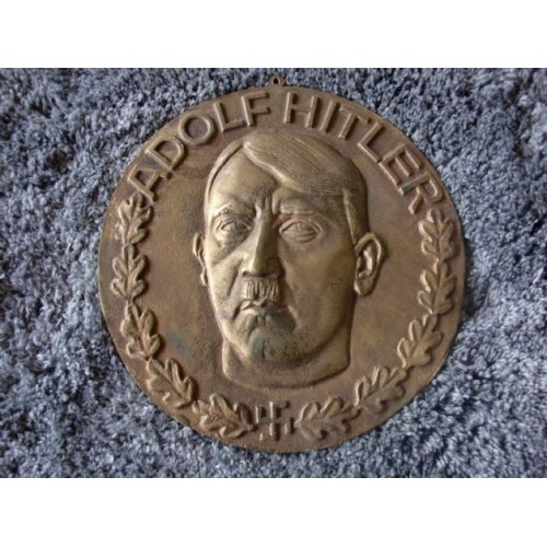 Adolf Hitler Plaque   # 3694