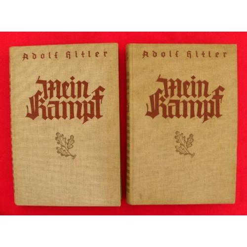 1934 Linen Gift set Mein Kampf # 3705