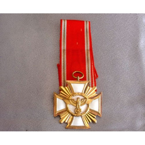 NSDAP 25 Year Long Service Medal   # 3721