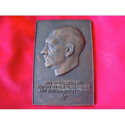 Führer Plaque  # 3724