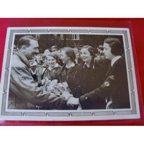 Hitler Postcard # 3737