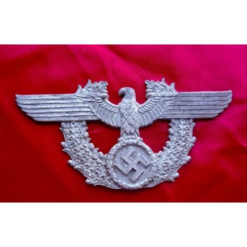 Police NCO Shako Eagle  # 3786
