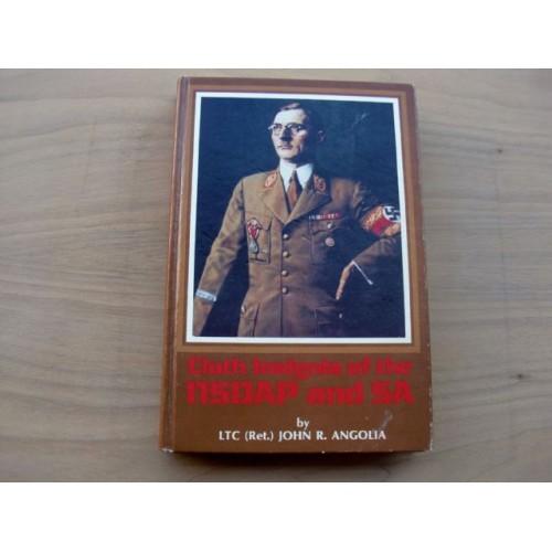 Cloth Insignia of the NSDAP and SA Book  # 3791