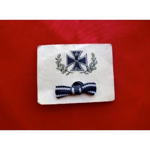 WWI IC Ribbon # 3808