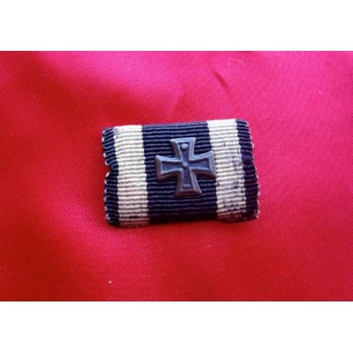 WWI Iron Cross Ribbon Bar # 3810