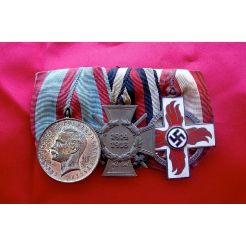 3 Medal Ribbon Bar # 3833