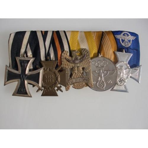 5 Medal Bar  # 3884