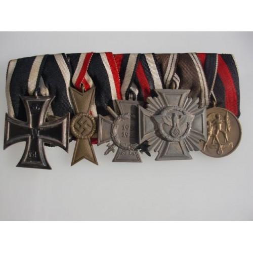 5 Medal Bar # 3888