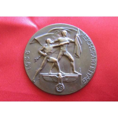 1938 Reichsparteitag Medallion # 3920