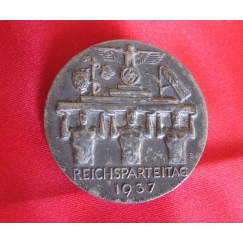 1937 Reichsparteitag Tinnie  # 3983