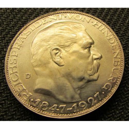 Hindenburg Medallion # 3995