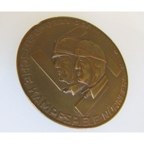 Gelandefahrt Deutsche Kampfspiele Medallion # 4000