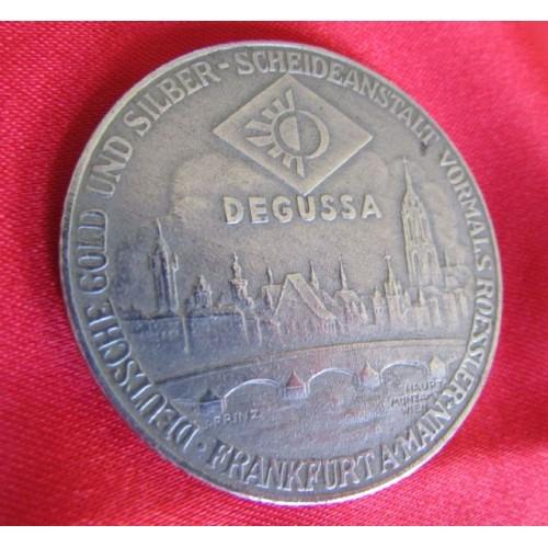 AUSTRIA DEGUSSA Calendar Medallion # 4011