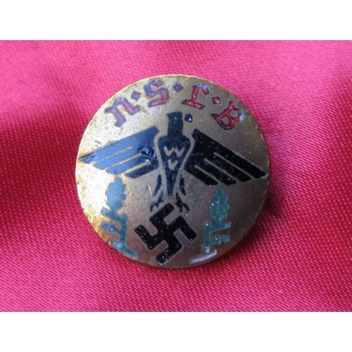 Nationalsozialistischer Lehrerbund Membership Badge # 4024